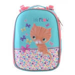 """Рюкзак с котами и кошками для девочек 1 Вересня """"Cat"""", каркасный/ортопедический"""