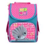 Рюкзак с котами и кошками для девочек 1 Вересня Cat каркасный/ортопедический