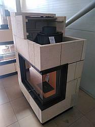 Пристінно кутовий камін Kobok Chopok r90-s 450 730/570