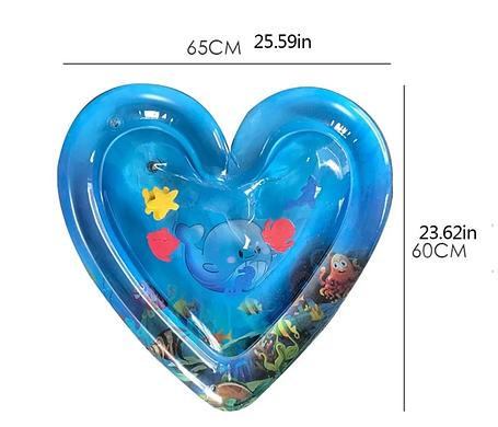 Детская надувная водная подушка в форме сердца   игровой центр для развития, фото 2