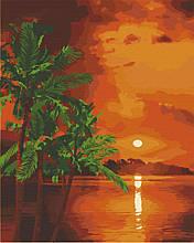 Картина по номерам  Вечер на Бали 40х50 см 10571-AC Art Craft