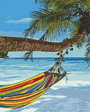 Картина по номерам  Отдых на Сейшелах 40х50 см 10572-AC Art Craft