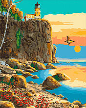 Картина по номерам  Маяк Сплит - Рок 40х50 см 10570-AC Art Craft