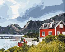 Картина по номерам  Фьорды Норвегии 40х50 см 10569-AC Art Craft