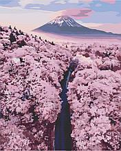 Картина по номерам  Фудзияма в сакуре 40х50 см 10576-AC Art Craft