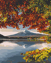 Картина по номерам  Фудзияма осенью 40х50 см 10574-AC Art Craft