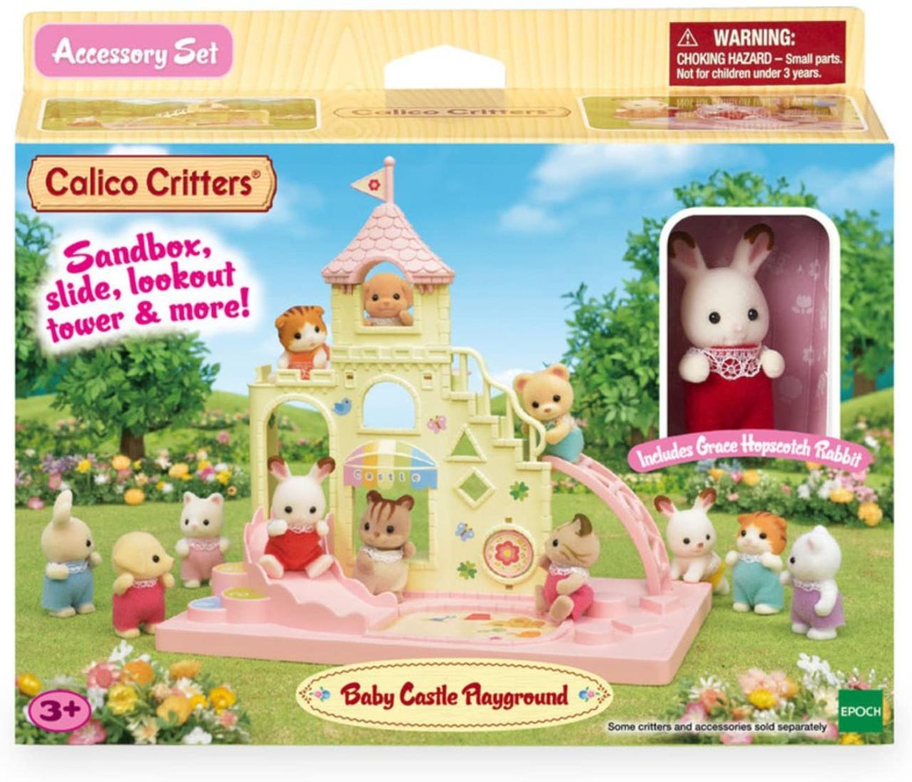 Сильваниан фэмилис Игровая площадка с фигуркой кролика Sylvanian Families Calico Critters