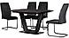 Стол раскладной Vetro Mebel TML-770-1 серый, фото 4