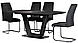Стол раскладной Vetro Mebel TML-770-1 серый, фото 5
