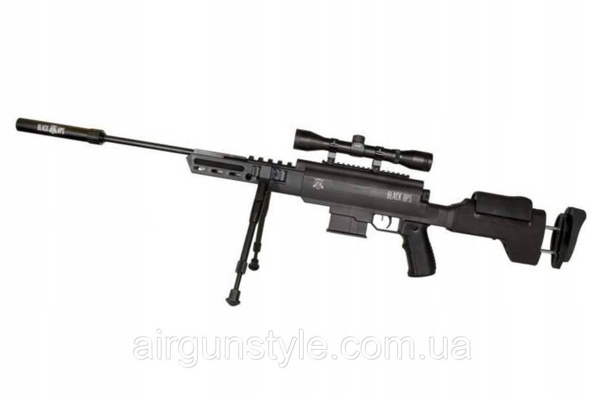 Гвинтівка пневматична Norica Black OPS Sniper