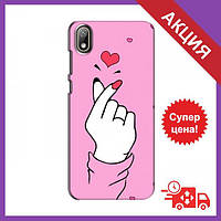 Бампер с принтом для Huawei Y6 Pro (2019)/ Y6 Prime 2019 / Бампер на Хуавей Вай 6 Про (2019) / Бампер для