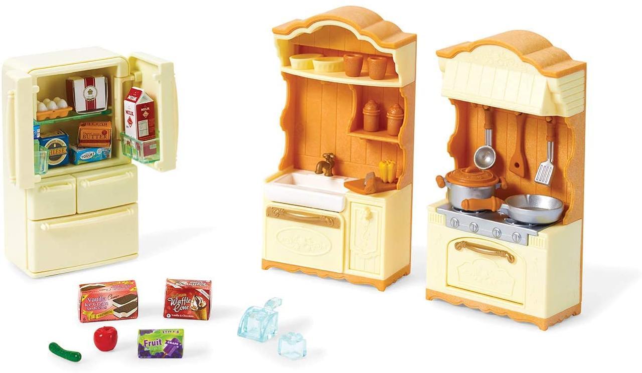 Сильваниан фэмилис Кухня с холодильником Sylvanian Families Calico Critters