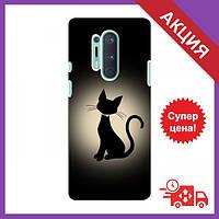 Чехол для OnePlus 8 Pro / Бампер на OnePlus 8 Pro / Чехол для Ван плюс 8 Про (Котик)