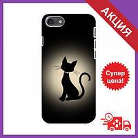 Бампер з принтом для iPhone 8 / Бампер на Айфон 8 / Бампер для iPhone 8 (Котик)