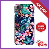 Чохол для iPhone 7 / Бампер iPhone 7 / Чехол для Айфон 7 (Яскраві Квіти)