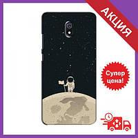 Чохол для Xiaomi Redmi 8A / Бампер на Xiaomi Redmi 8A / Чохол для Сяоми Редми 8А (Космонавт на місяці)