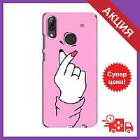 Бампер с принтом для Huawei P Smart 2019 / Бампер на Хуавей П Смарт 2019 / Бампер для Huawei P Smart 2019