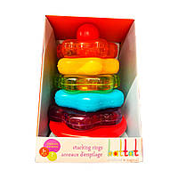 Развивающая игрушка - ЦВЕТНАЯ ПИРАМИДКА (7 предметов), BT2579Z, фото 1