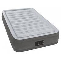Односпальная надувная кровать Intex 67766 со встроенным эл. насосом