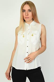 Блуза женская белая ААА 134550M