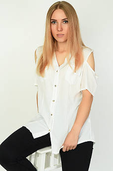 Блуза женская белая ААА 134552M