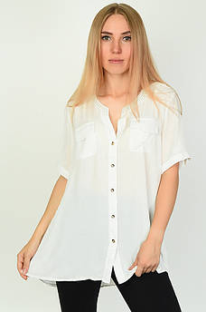 Блуза женская белая ААА 134557M