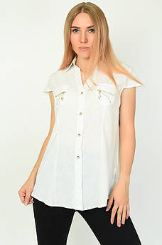 Блуза женская белая ААА 134575M