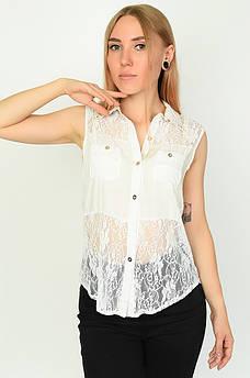 Блуза женская белая размер М ААА 134493M
