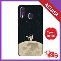 Бампер з принтом для Samsung Galaxy A40 2019 (A405F) / Бампер на Самсунг Гелексі А40 (2019) / Бампер для