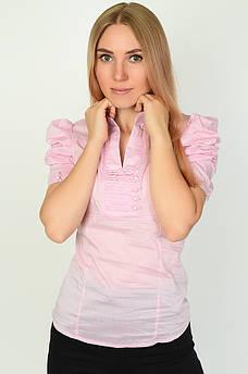 Блуза женская розовая ААА 134402M