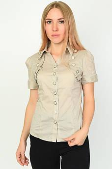 Блуза женская серая ААА 134422M