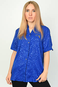 Блуза женская синяя DS 134106M