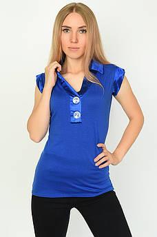 Блуза женская синяя размер L/XL ААА 134490M