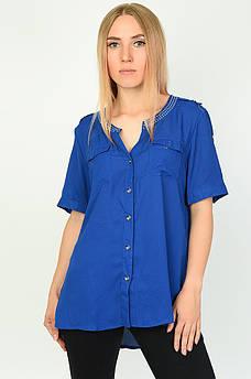 Блуза женская синяя размер XL ААА 134560M