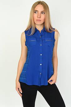 Блуза женская синяя размер М ААА 134496M
