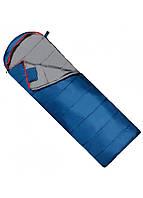 Туристичний спальний мішок спальник ковдра весна-осінь демісезонний синій SportVida -3 ... + 21 ° C SV-CC0071 L