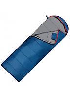 Туристичний спальний мішок спальник ковдра весна-осінь демісезонний синій SportVida -3 ... + 21 ° C SV-CC0070 R