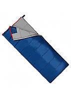 Туристичний спальний мішок спальник ковдра весна-осінь демісезонний синій SportVida -3 ... + 21 ° C SV-CC0067 L