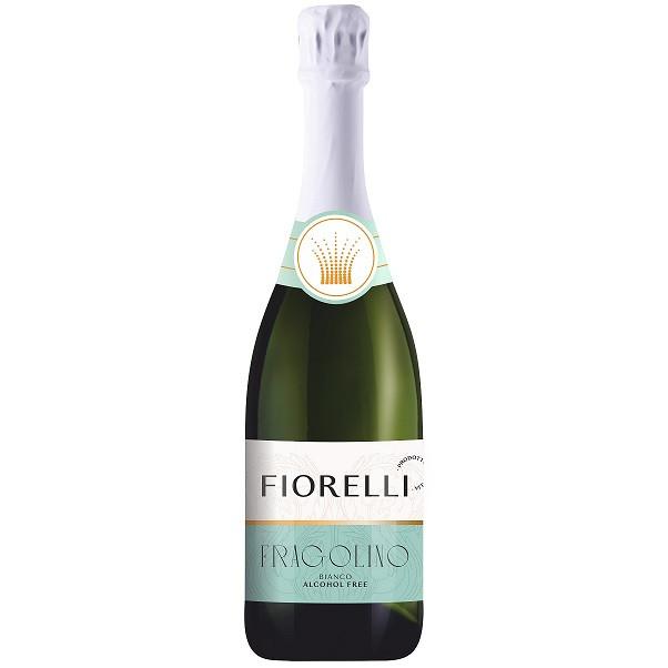 Шампанское безалкогольное (вино) Фраголино Фиорелли Fragolino Fiorelli 750 мл Италия ( 6 шт ящик)