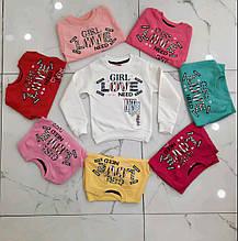 Кофты для девочек 86-122 рост
