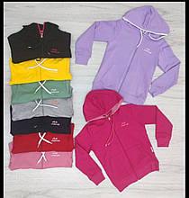 Кофты с капюшоном на молнии для девочек 13-16 лет