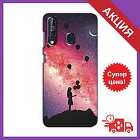 Бампер з принтом для Samsung Galaxy A60 2019 (A605F) / Бампер на Самсунг Гелексі А60 (2019) / Бампер для