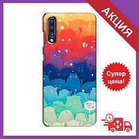 Силиконовый чехол для Самсунг Гелекси А70 (2019) / Чехол с изображением на Samsung Galaxy A70 2019 (A705F) /