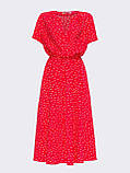 Плаття в горошок з коротким рукавом ЛІТО, фото 7