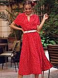 Плаття в горошок з коротким рукавом ЛІТО, фото 2
