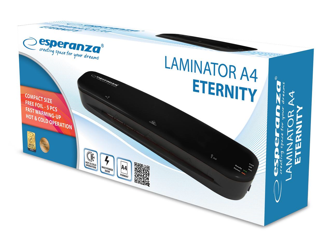 Ламинатор A4 Esperanza (EFL002) ETERNITY 265 Вт