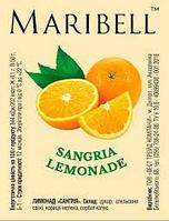 MARIBELL Лимонад Сангрія (100шт/ящ)