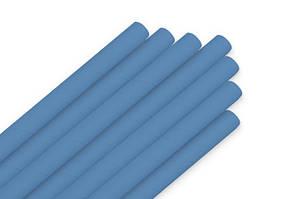 Паперова ЕКО трубочка синя d5 20см(250шт/уп)(16уп/ящ)