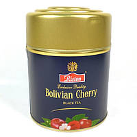 Черный чай Ристон Боливийская Вишня 80 гр ж/б