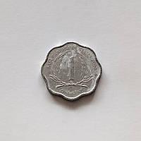 1 цент Восточные Карибы 2000 г., фото 1